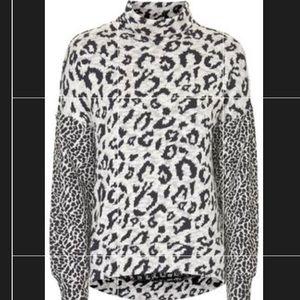 TopShop Cheetah Sweater